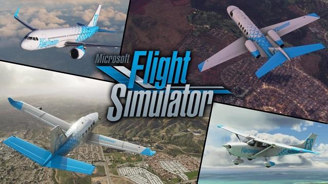 Microsoft Flight Simulator takes off