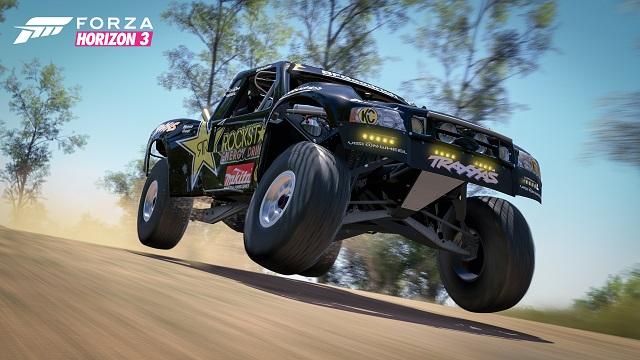 Forza Horizon 3 pops open Rockstar Car Pack