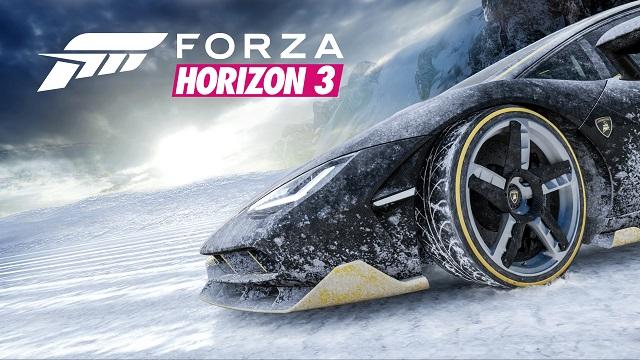 Forza Horizon 3 releases Alpinestars and forecasts snow