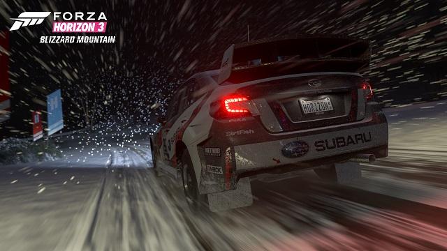 Forza Horizon 3 takes on Blizzard Mountain