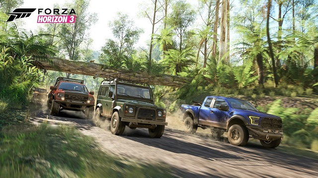 Groove to driving tunes in Forza Horizon 3