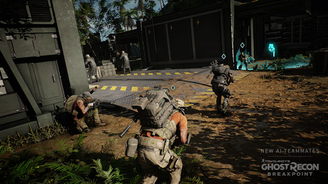 AI teammates joining Ghost Recon Breakpoint