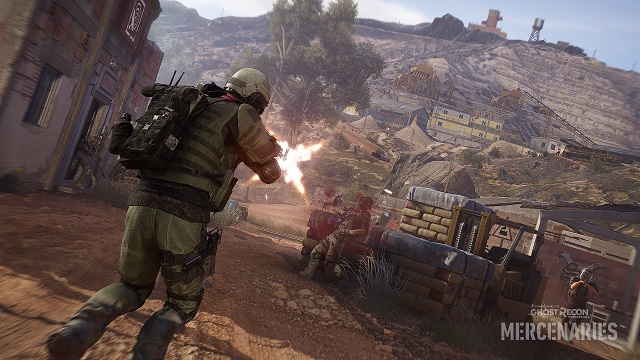 Ghost Recon Wildlands deploying Mercenaries