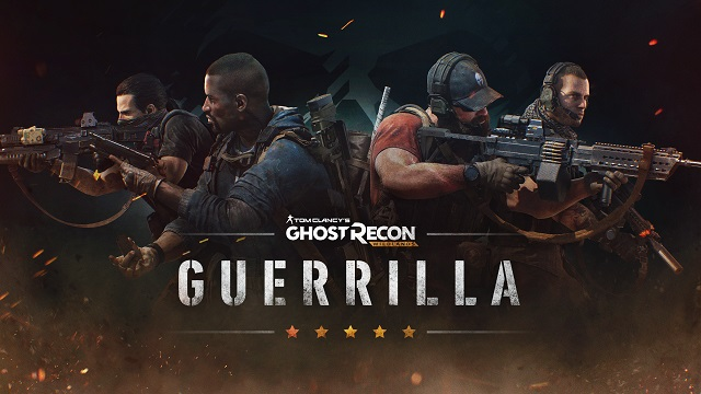 Guerrilla hitting the Wildlands tomorrow