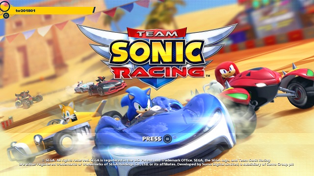 Team Sonic Racing races into stores