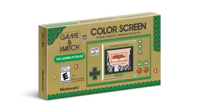 Game & Watch: The Legend of Zelda announced