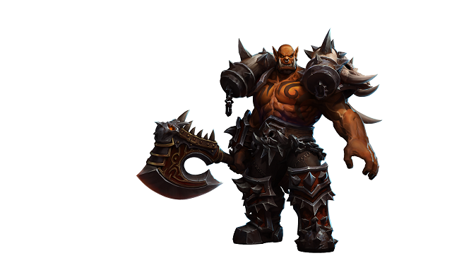Garrosh enters the Nexus