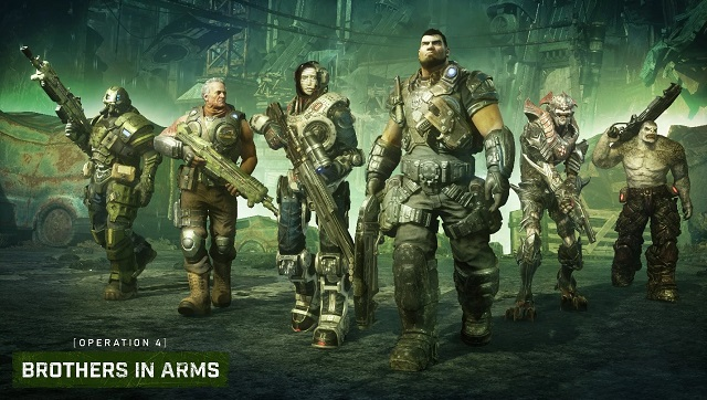 Gears 5 launches Brothers in Arms