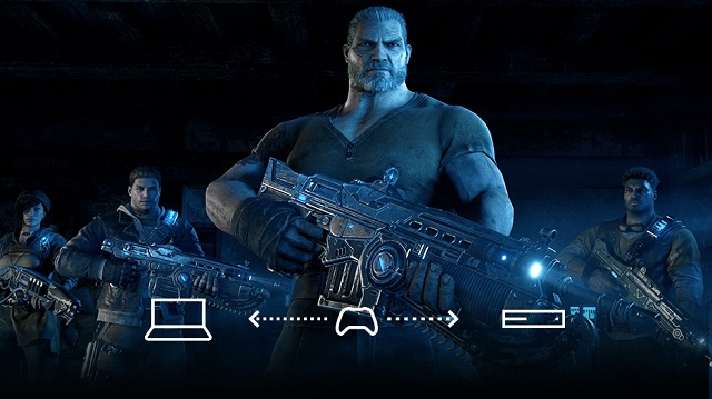 Gears of War 4 now supports versus social cross-play