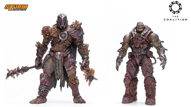 New Gears of War action figures revealed