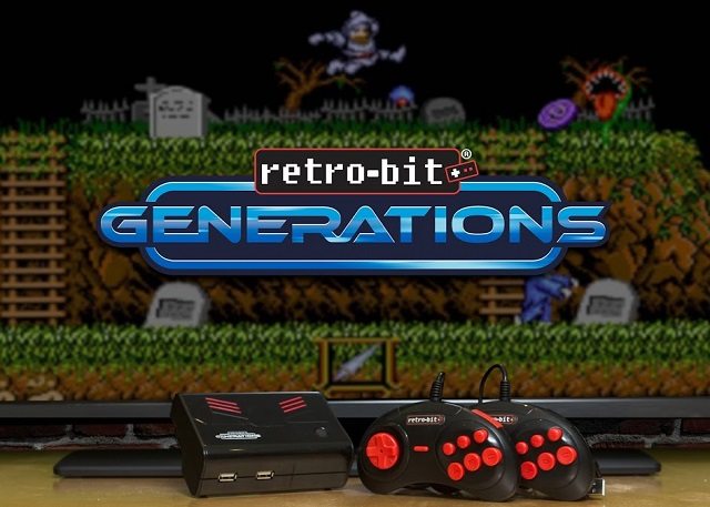 Retro-Bit Generations console to come with 100 classic games news image