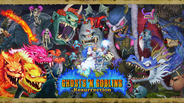 Ghosts 'n Goblins resurrected on Switch