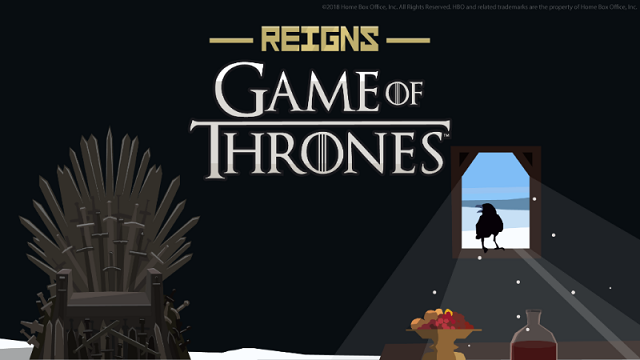 Reigns: Game of Thrones is here