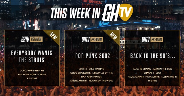 The Struts and two more premium shows debut on Guitar Hero Live