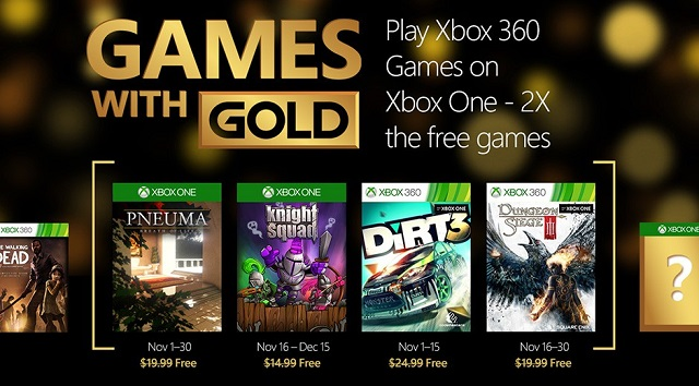 Free Xbox 360 Games with Gold games will be free on Xbox One, too
