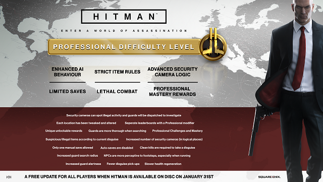Hitman getting a lot more difficult