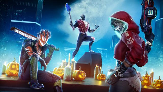 It's Halloween in Hyper Scape