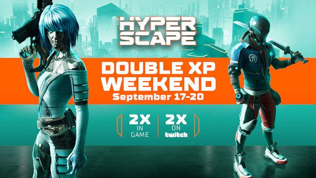 Hyper Scape kicks-off double XP weekend