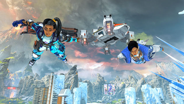 Apex Legends celebrating the Holo-Days