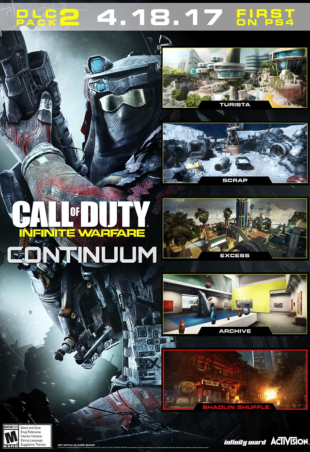 Call of Duty: Infinite Warfare reveals Continuum contents