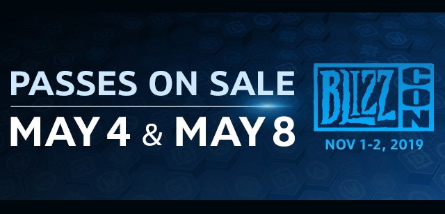 BlizzCon 2019 tickets on sale soon