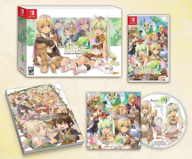 Rune Factory 4 Special Archival Edition revealed