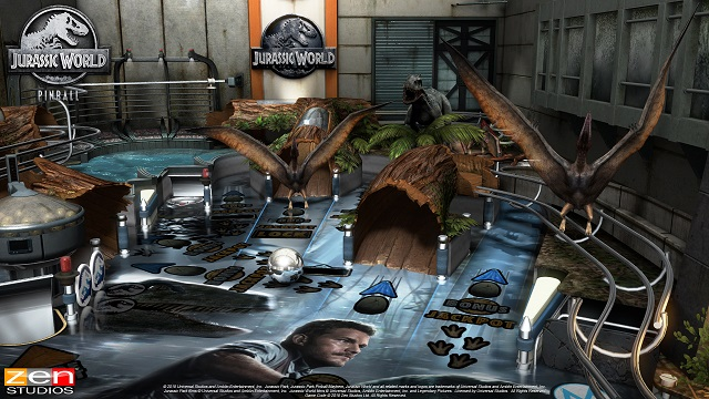 Pinball FX3 welcomes you to Jurassic World