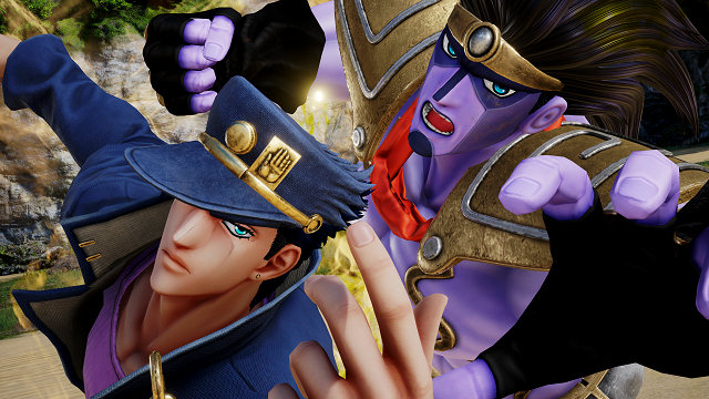 JoJo's Bizarre Adventure jumping into Jump Force