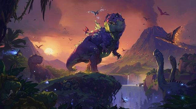 Hearthstone taking a Journey to Un'Goro