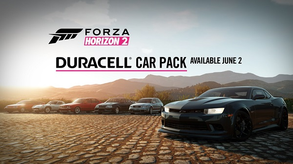 Duracell Car Pack charges onto Forza Horizon 2