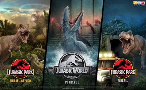 Pinball FX3 will be taking you to Jurassic World