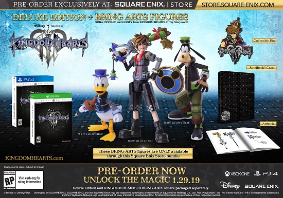 Kingdom Hearts III will be available in January