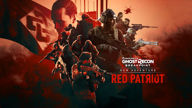 Ghost Recon Breakpoint unleashing the Red Patriot