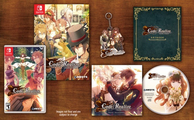 Code: Realize -Guardian of Rebirth- Collector's Edition revealed
