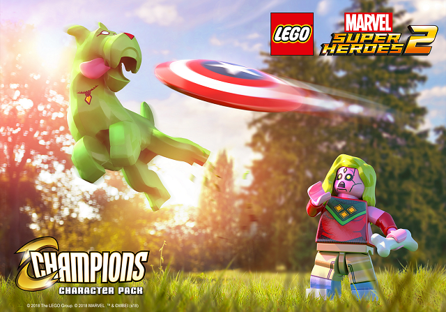 LEGO Marvel Super Heroes 2 Champions revealed