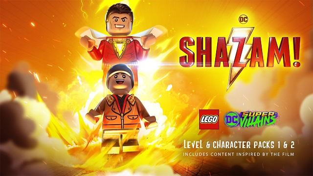 Shazam joins LEGO DC Super-Villains