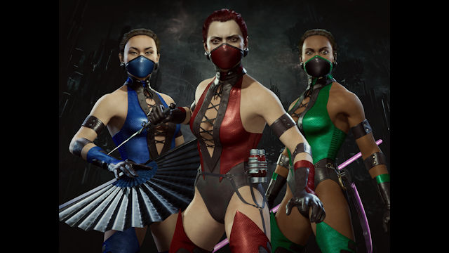 Three femme fatales join Mortal Kombat 11: Aftermath