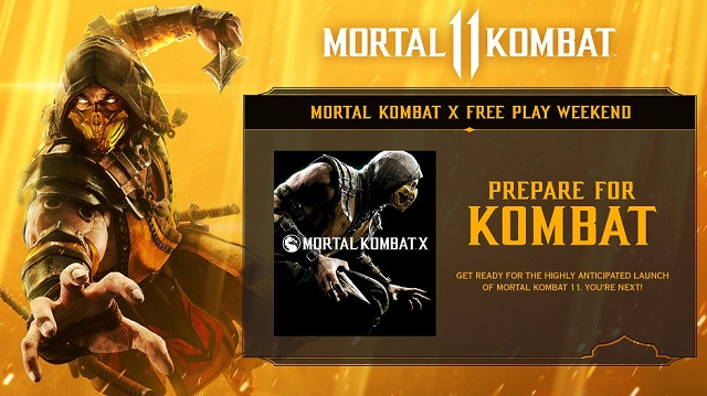 Mortal Kombat X free to play on Xbox this weekend