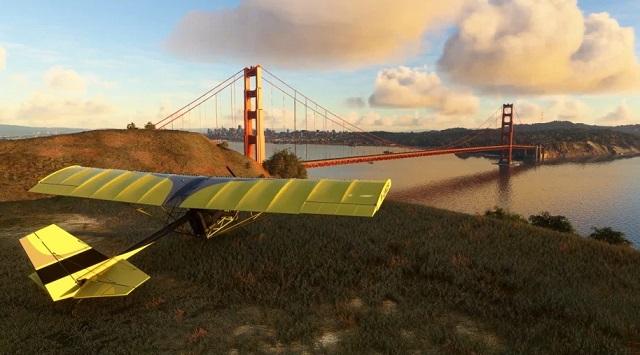 Microsoft Flight Simulator goes ultralight