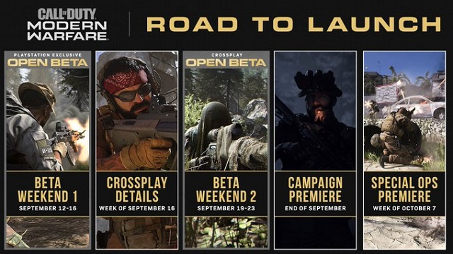 Modern Warfare lays out road to launch