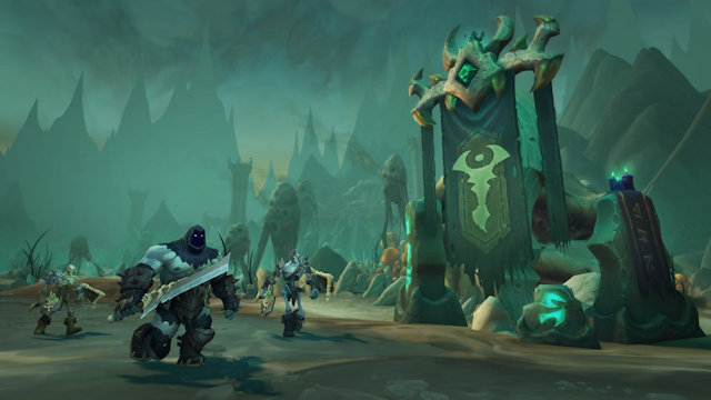 World of Warcraft opens the Shadowlands