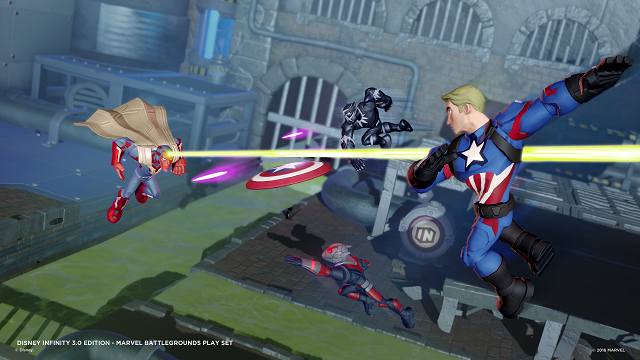 Marvel Battlegrounds now available for Disney Infinity 3.0