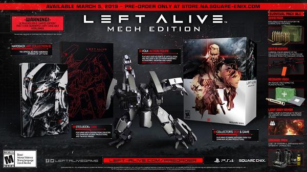 Left Alive release date and preorder bundles revealed
