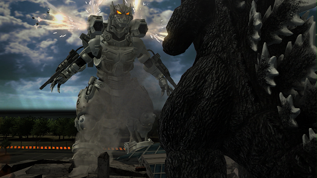 Godzilla stomps onto PlayStation