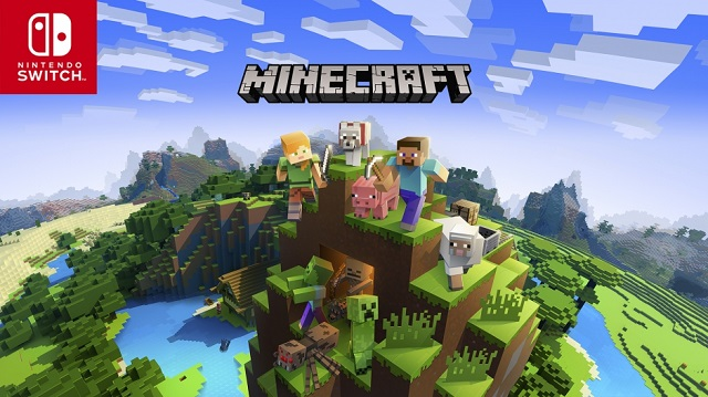 Minecraft striking Bedrock on Switch