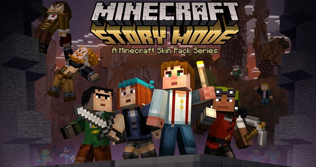 Minecraft: Story Mode skins come to Minecraft the game