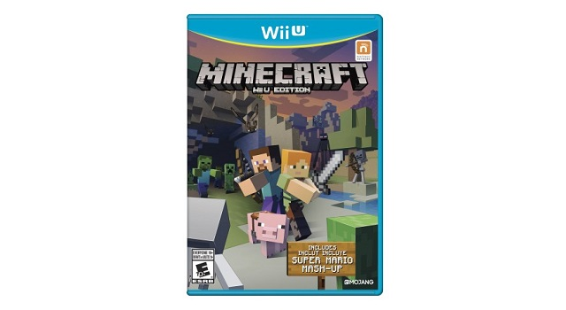 Minecraft for Wii U comes to stores