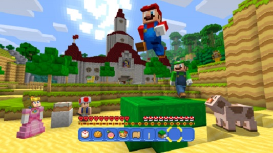 Mario comes to Minecraft in May