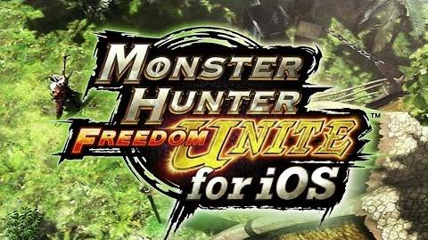 Monster Hunter Freedom Unite now on iTunes App Store