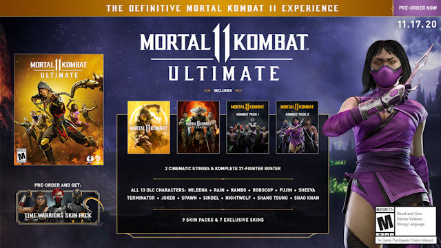 Mortal Kombat 11 going Ultimate